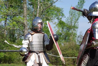 Aisha v. Brian (nice shot of new armor)