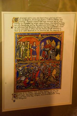 beautiful scroll created by Lady Lewen