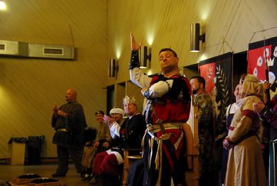 Sir Drogo preaches to the Choir