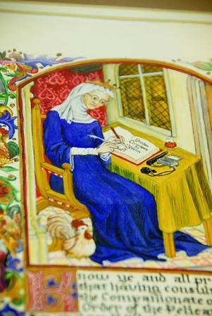 Barbara Sterling's pelican scroll by Lewen