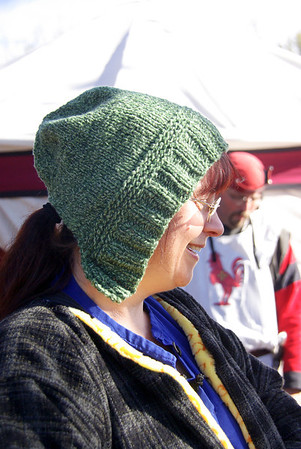 Magdelena's new hat