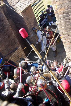 gate battle