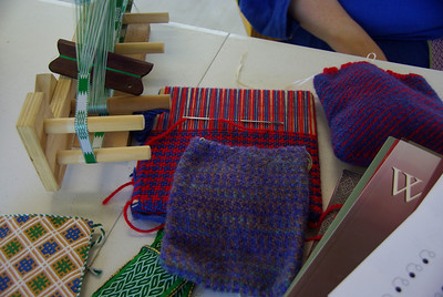 weaving display by Eowyn