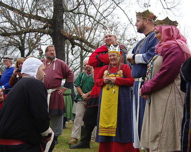 William of Glenlyon called before the knights to be put on vigil for elevation