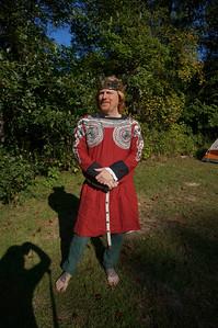 King Caillin & the kick a** Olrun garb
