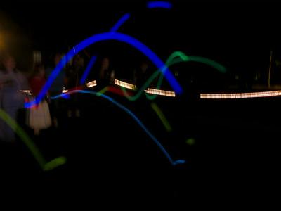 Midnight bocci Ball