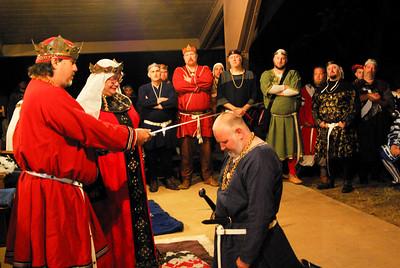 Dubbing of Sir Henry