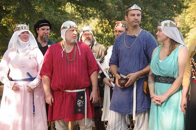 Prince Wulfstan & Princess Thorkatla  King Mordan & Queen Emelyne