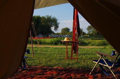 veiw from camp.