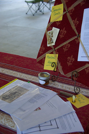 Italian arts research display