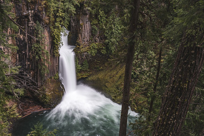 Tokettee Falls, Oregon