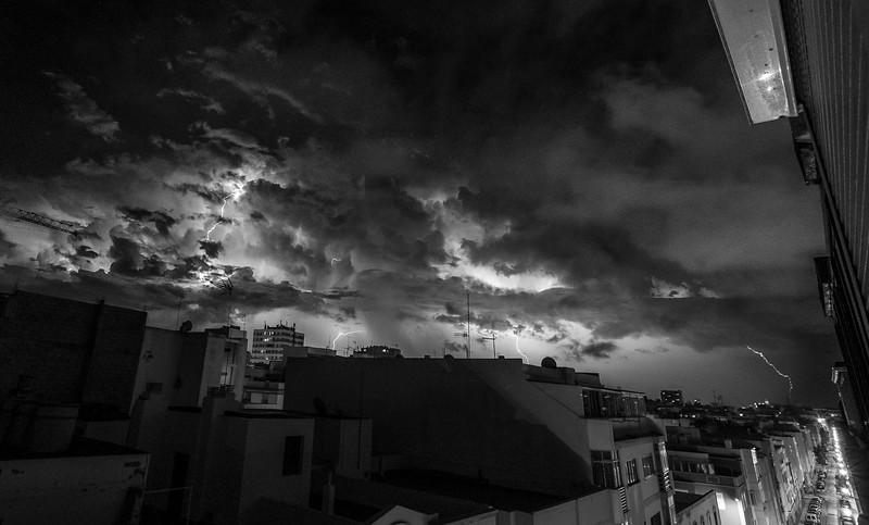 Noche de rayos