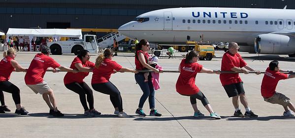 Dulles Plane Pull, IAD, VA