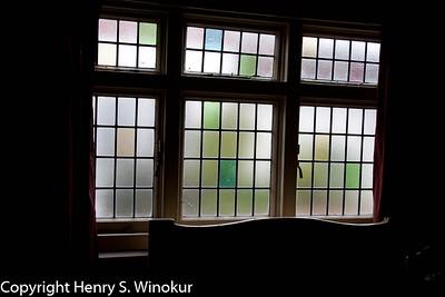 Window in a pub