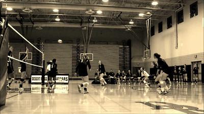 Gilbert Girls Volleyball @ Desert Ridge 10-01-13