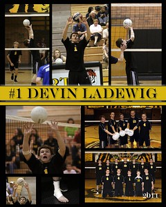 BOYS VOLLEYBALL COLLAGE
