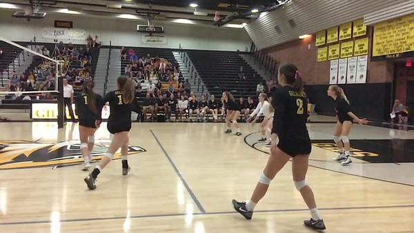 Gilbert Tigers Girls Volleyball 2017