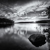 Stillness on Lake Ouachita (selenium)