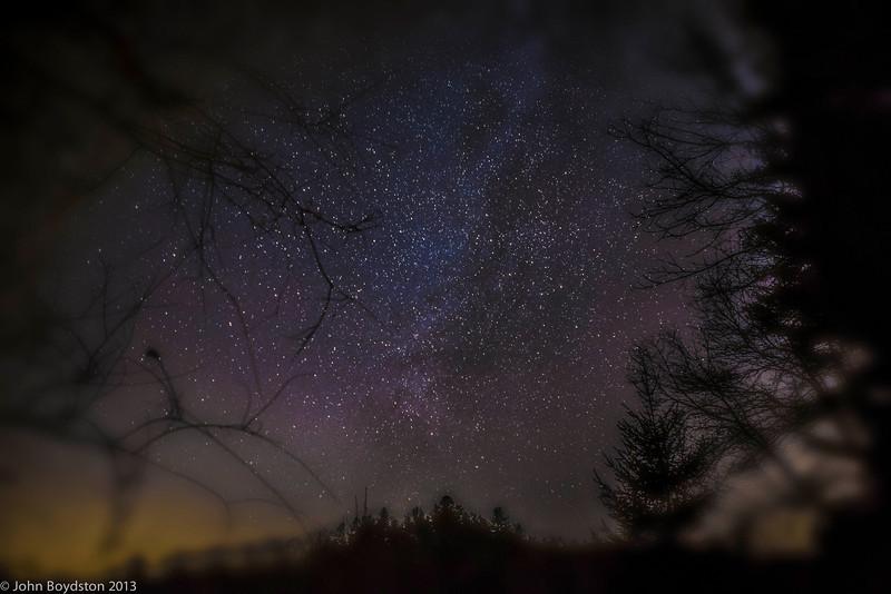 Sky at Night, Blue Ridge Ga