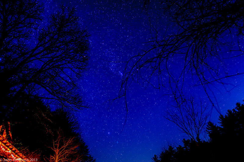 Sky at Night, Blue Ridge Ga