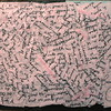 I found a letter I had written someone and never sent, so I tore it up and découpaged the scraps to create something new. Palimpsest!<br /> May 2011