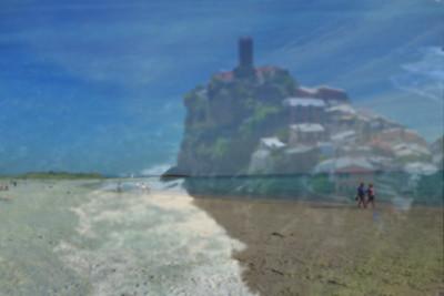 Italian Coast Double Exposure