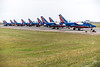 Dassault/Dornier Alpha Jets of the Patrouille de France flight display team