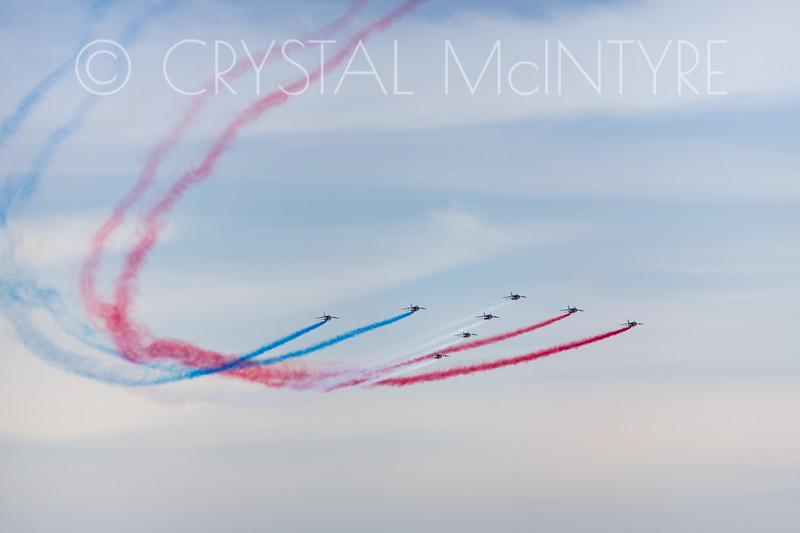 Patrouille de France flight display team