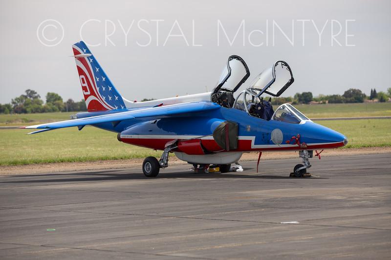 Dassault/Dornier Alpha Jet of the Patrouille de France flight display team