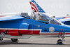 Dassault/Dornier Alpha Jet of the Patrouille de France flight display team