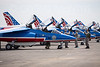 Dassault/Dornier Alpha Jets of the Patrouille de France flight display team