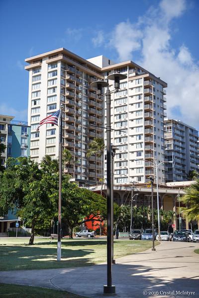 The Queen Kapiolani Hotel in Waikiki.