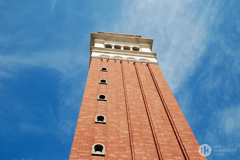 A Blue Sky Over the St Mark's Campanile of Orlando