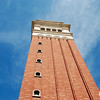 A Blue Sky Over the St Mark's Campanile of Orlando