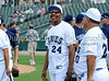 Everson Walls (former Dallas Cowboys) at the Reebok 2011 Heroes Celebrity Baseball Event