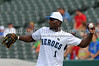 Dallas Cowboys wide receiver Dez Bryant at the Reebok 2011 Heroes Celebrity Baseball Event