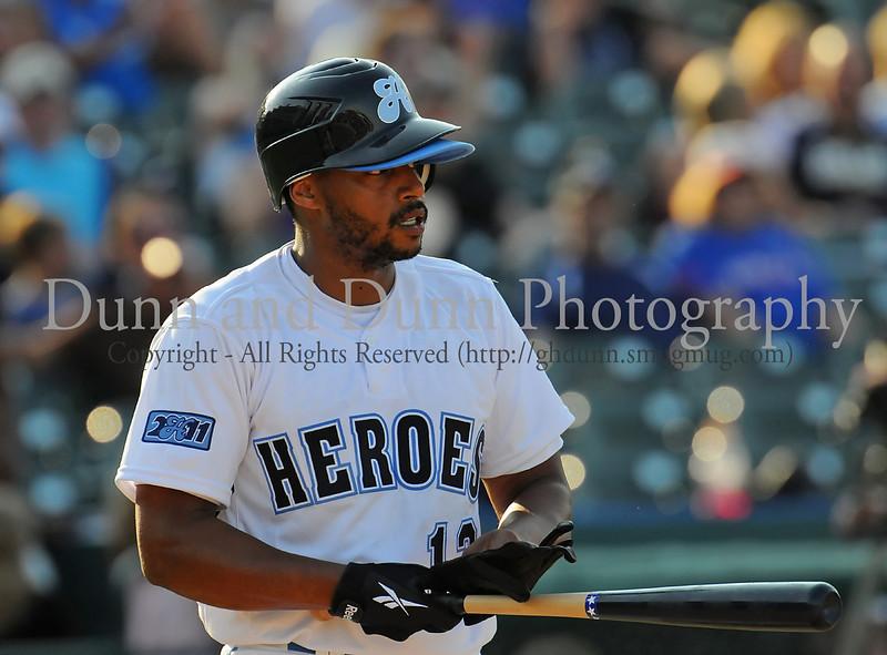 Actor Donald Faison bats at the Reebok 2011 Heroes Celebrity Baseball Event