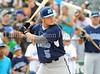 2011 L.D. Bell graduate Hunter Lockwood bats at the Reebok 2011 Heroes Celebrity Baseball Event