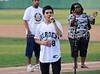 "American Idol star David Archuleta sings ""God Bless America"" at the Reebok 2011 Heroes Celebrity Baseball Event"