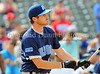 Actor Dave Annable bats at the Reebok 2011 Heroes Celebrity Baseball Event