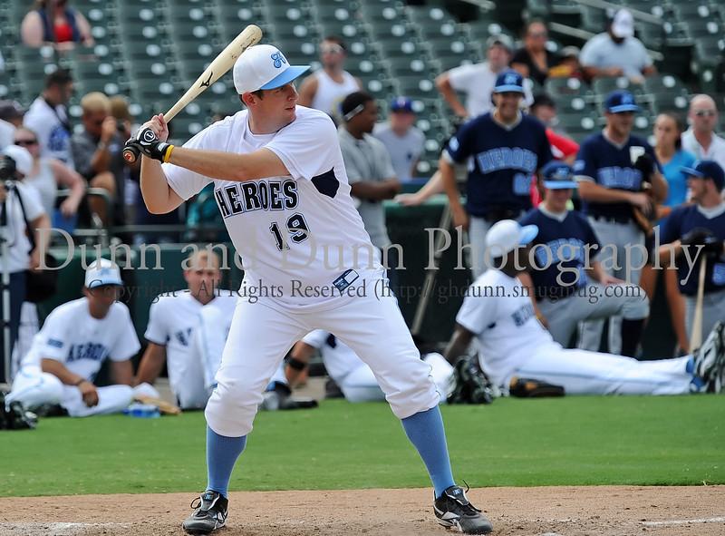 "Ben Rogers ""Ben"" bats at the Reebok 2011 Heroes Celebrity Baseball Event"