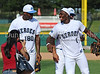 Dallas Cowboys wide receiver Dez Bryant and Martellus Bennett at the Reebok 2011 Heroes Celebrity Baseball EventReebok 2011 Heroes Celebrity Baseball Event