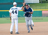 Kevin Boscamp rounds the bases after hitting a home run in the Reebok 2011 Heroes Celebrity Baseball Event