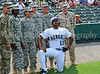 Actor Donald Faison poses at the Reebok 2011 Heroes Celebrity Baseball Event