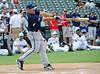 Former Texas Ranger Kevin Mench bats at the Reebok 2011 Heroes Celebrity Baseball Event