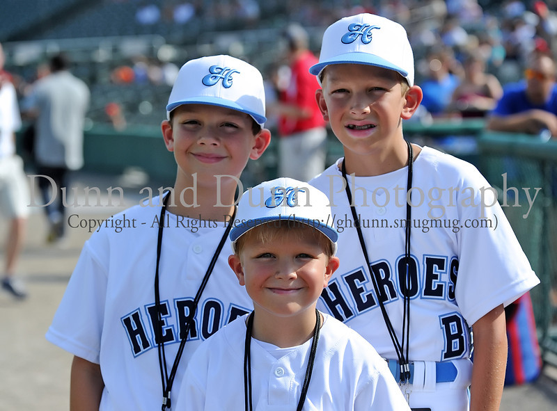Bat boys at the Reebok 2011 Heroes Celebrity Baseball Event