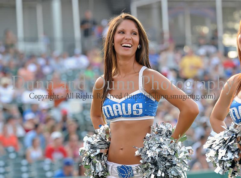 Dallas Mavericks Dancer at the Reebok 2011 Heroes Celebrity Baseball Event