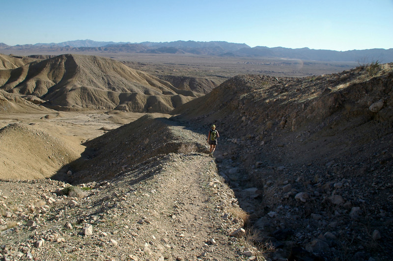 Almost back to the trailhead. It was a fun hike with a lot of interesting stuff.<br /> <br /> THE END
