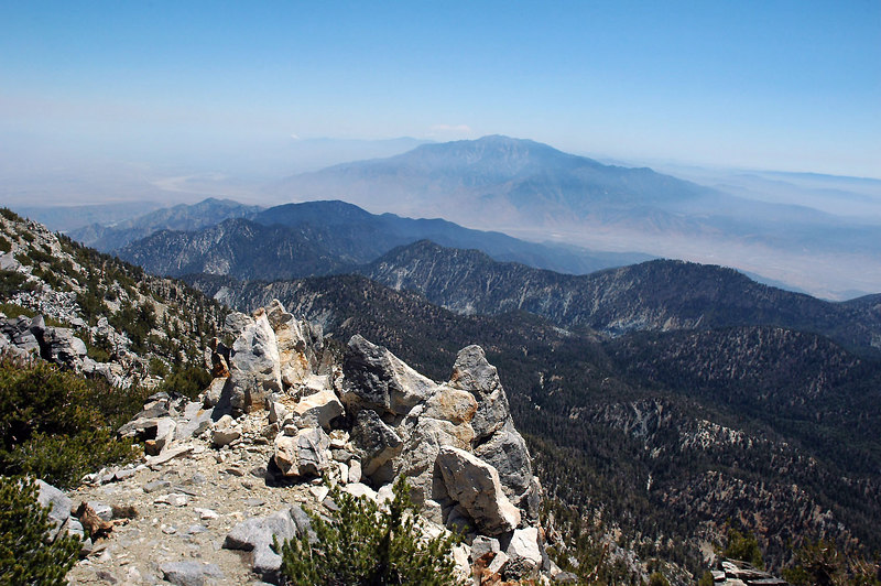 San Jacinto Peak to the south.