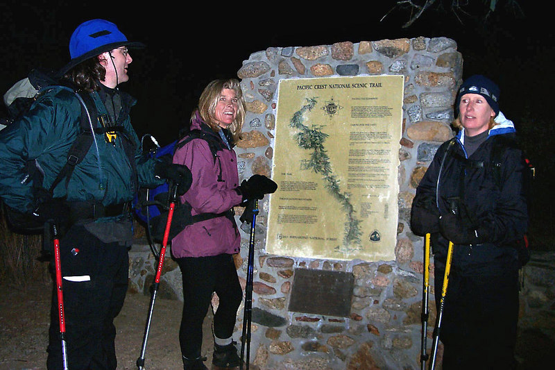 We finished the hike in the dark. The hike ended up being about 17 miles. <br /> <br /> THE END